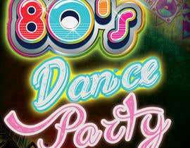 #500 for 80s  Dance Party invitation/flyer by palash66