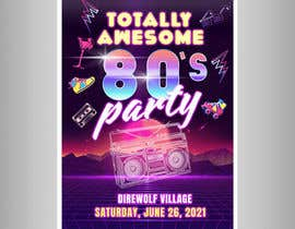 #210 for 80s  Dance Party invitation/flyer by Storybudhist