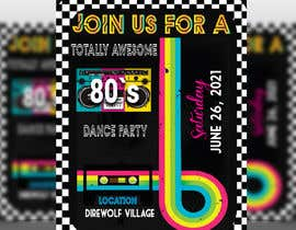#200 for 80s  Dance Party invitation/flyer by janicimondol18