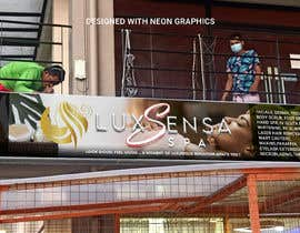 #131 untuk Design an store overhead signage for a Salon and Spa oleh leomacatangay9