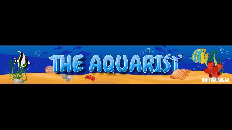 Penyertaan Peraduan #                                        94                                      untuk                                         The Aquarist Logo & Banner
