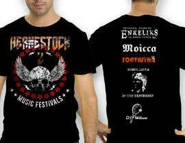 antoniustoni tarafından Create a Design for rock / metal festival t shirt için no 30