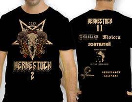 antoniustoni tarafından Create a Design for rock / metal festival t shirt için no 38