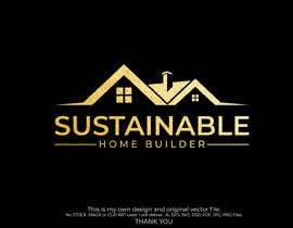 #632 untuk Sustainable Home Builder LOGO oleh mashudurrelative
