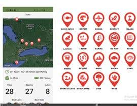 #22 untuk Design map markers for the following features oleh Kayz10