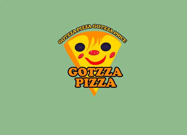 Konkurrenceindlæg #                                        12                                      for                                         Design a Logo for Gotzza Pizza - Modification
