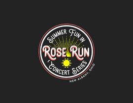 #160 untuk Summer Fun Rose Run Concert Series Logo for Tee shirts oleh alenhr
