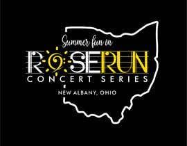 #225 untuk Summer Fun Rose Run Concert Series Logo for Tee shirts oleh EstebanSanchezMo