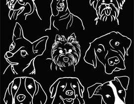 #97 cho Vector images of dogs (10x) bởi HEISEN1911