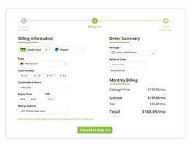 #26 untuk Mockup 'Billing Information' Page(s) oleh Azim347