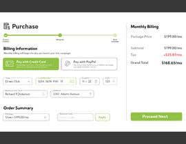 #35 untuk Mockup 'Billing Information' Page(s) oleh Azim347