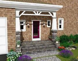 nº 13 pour Simple stone entrance design/sketch/model par dmiljanka
