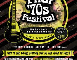 nº 51 pour Create Posters for a Music Festival par TheLostEditor