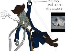 #39 para Villain Concept (Fantasy) Illithid Pirate por Artheart556