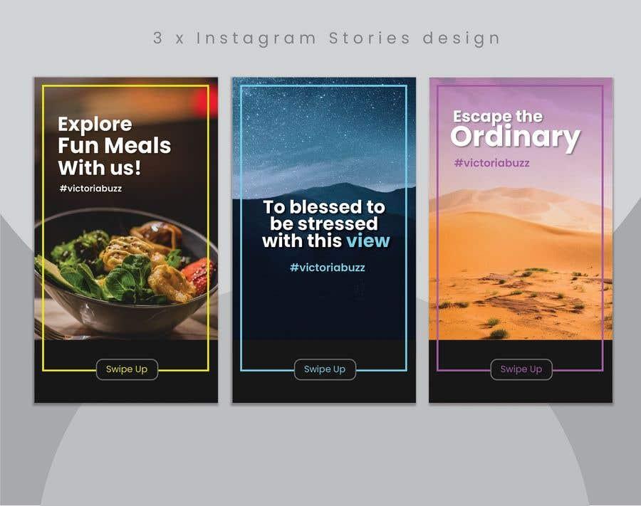 Inscrição nº                                         6                                      do Concurso para                                         Instagram Stories design