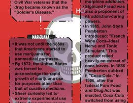 #12 for I need 2 infographic designs about drug use in the US af RetroType