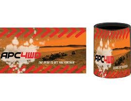 #2 for Design a stubby/can cooler for our 4WD Business by DulajGraphic