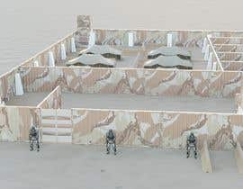 #5 for Deployable protection wall / perimeter / barricade by arifinjulian