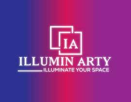 Nro 11 kilpailuun Create a logo for Illumin-Arty (illuminated art project) käyttäjältä mamajid392