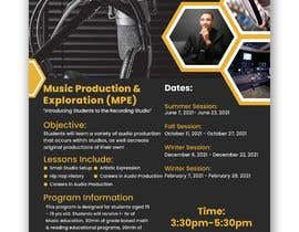 #36 cho Looking for professional flyer to promote our urban educational music program bởi raihanraiyan88