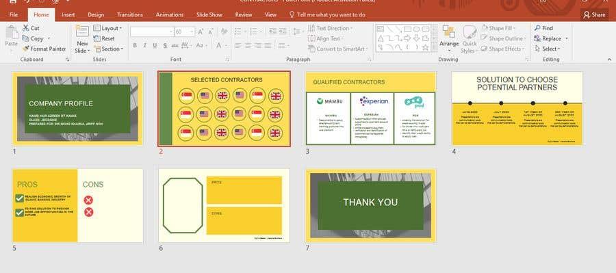 Bài tham dự cuộc thi #                                        16                                      cho                                         Power point presentation needed