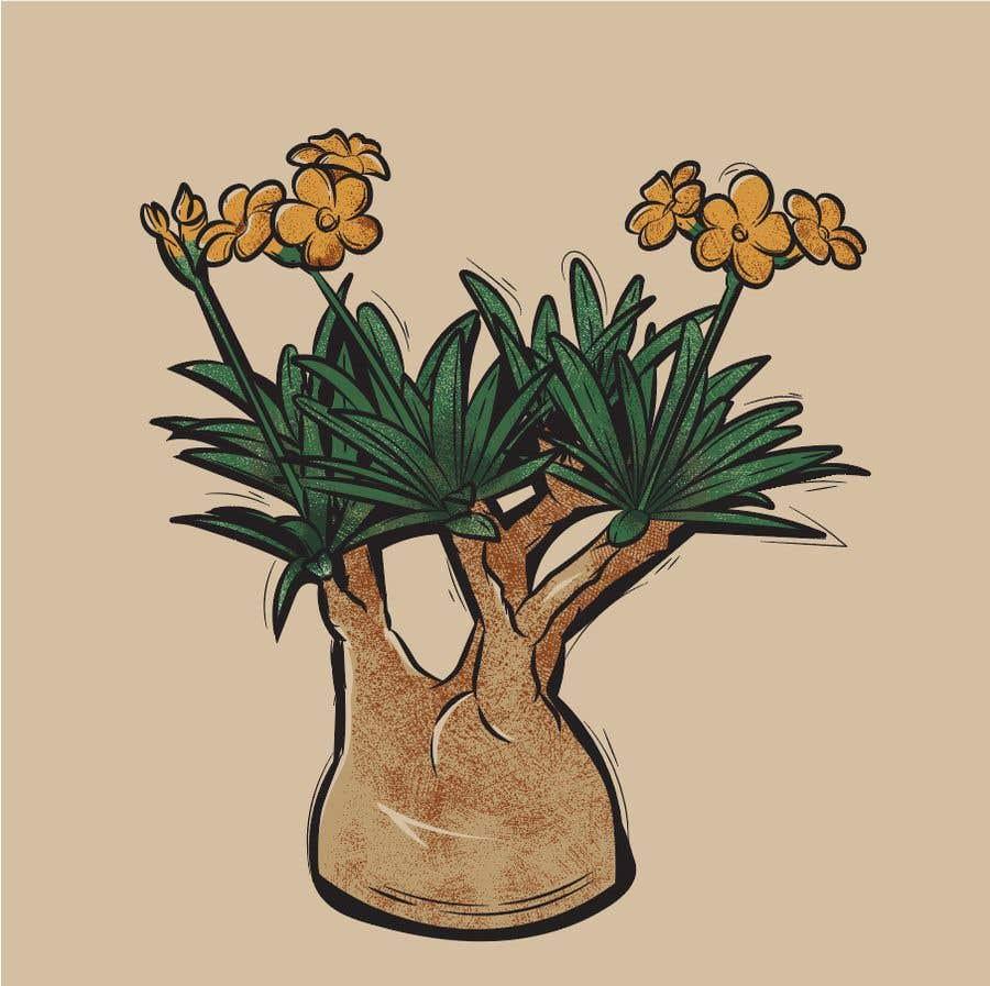 Penyertaan Peraduan #                                        16                                      untuk                                         Botanical illustration needed
