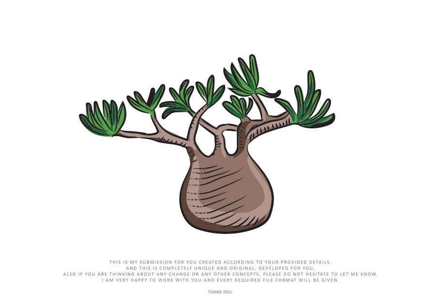 Penyertaan Peraduan #                                        21                                      untuk                                         Botanical illustration needed