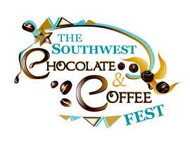 #113 za Logo Design for The Southwest Chocolate and Coffee Fest od chitree