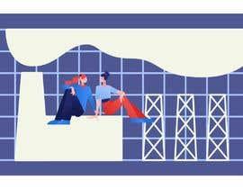 #16 для Make banner illustrations for a website от kushwahom11