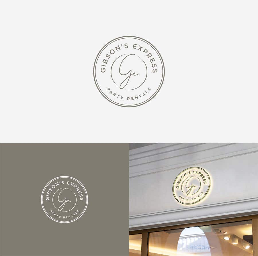 Kilpailutyö #                                        132                                      kilpailussa                                         Create a Logo for Party Rental Company