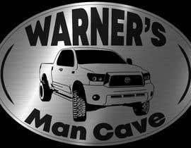 #58 untuk Man cave sign design oleh mendozaarispe