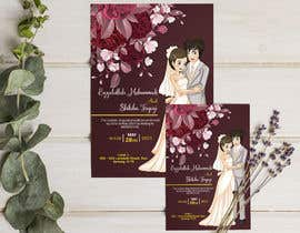 #57 untuk wedding ceremony invitation card oleh joyhalderjoy
