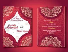 #47 untuk wedding ceremony invitation card oleh sumaya15