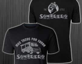 #182 para T-Shirt Design Little Sombero por azmiridesign