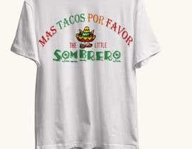 #121 para T-Shirt Design Little Sombero por Tazny
