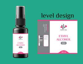 #55 for Alcohol spray 125ml label design by sinhashuvo35