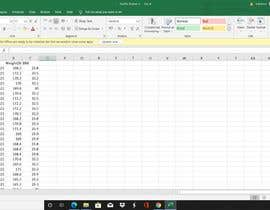 Nro 123 kilpailuun Excel Document Editing käyttäjältä chandnaniyukta1
