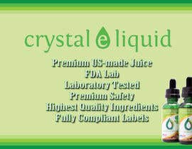 #6 cho Design a Banner for Crystal E Liquid - PG/VG Line bởi VMahoney