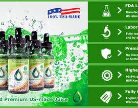 #21 for Design a Banner for Crystal E Liquid - PG/VG Line by ducdungbui
