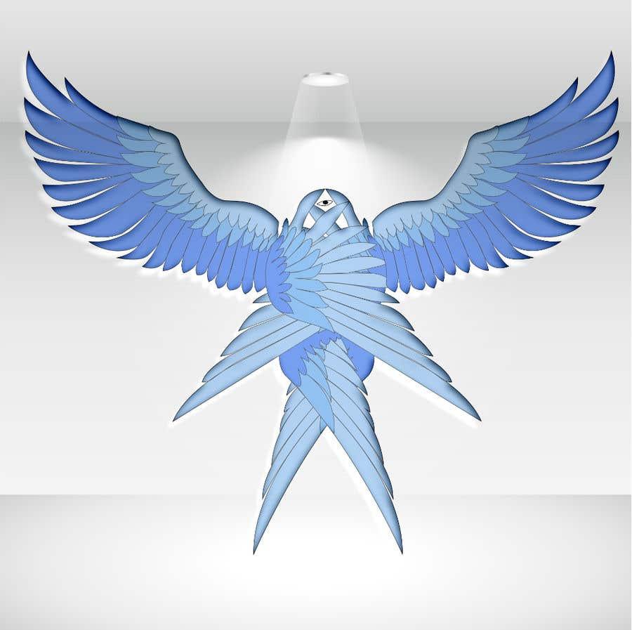 Kilpailutyö #                                        2                                      kilpailussa                                         3D Seraphim artwork