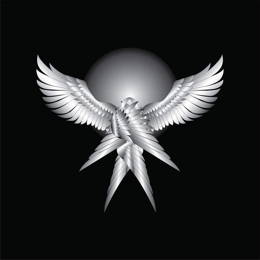 Kilpailutyö #                                        12                                      kilpailussa                                         3D Seraphim artwork
