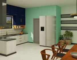 #28 untuk 3D Rendering of a Kitchen Design oleh RakshithaMohan