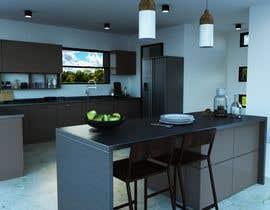 #15 untuk 3D Rendering of a Kitchen Design oleh manishrathva