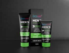 Nro 28 kilpailuun Design carton and tube label for male intimate wash and create mock up käyttäjältä tamalahmed19