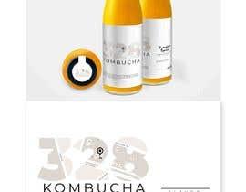 #42 for Kombucha Bottle Label by KahelDesignLab