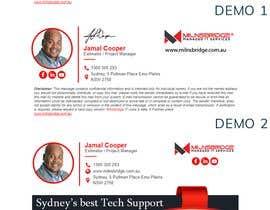nº 85 pour Design me an email signature par kowsur777