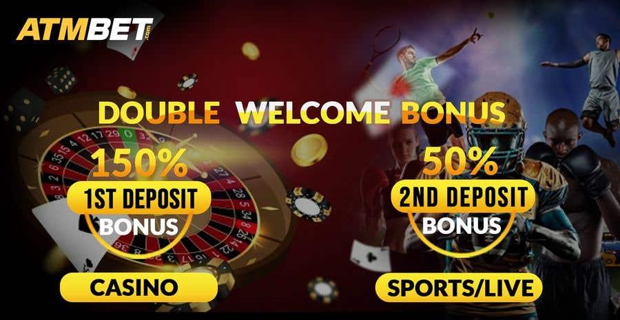 Proposition n°                                        17                                      du concours                                         Double Welcome Bonus Banner
