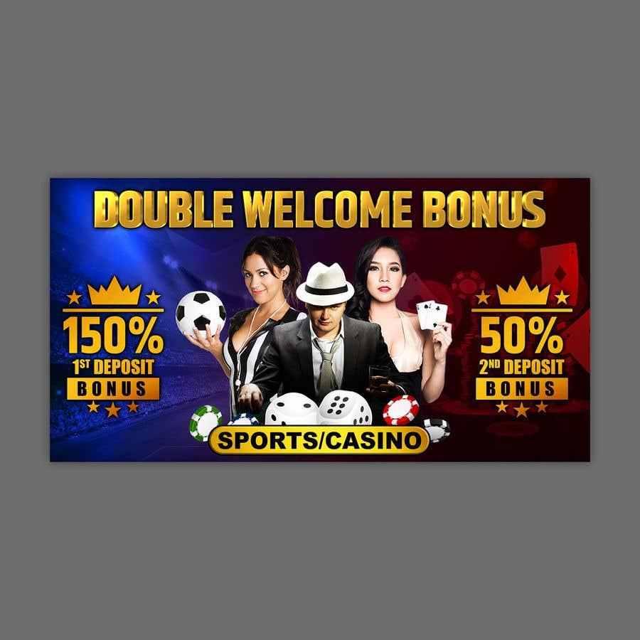 Proposition n°                                        12                                      du concours                                         Double Welcome Bonus Banner