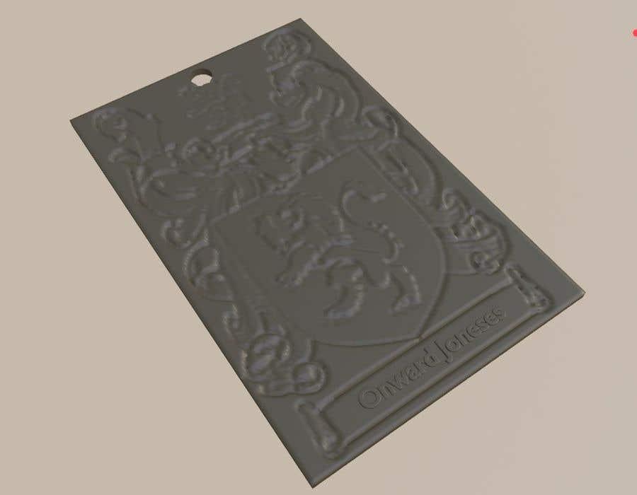 Inscrição nº                                         3                                      do Concurso para                                         Design a 3d Model Keychain STL for 3d printing