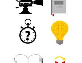#22 untuk 6 icons for a website oleh Fantasygraph